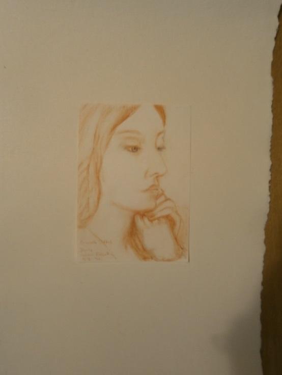 Elizabeth Siddal - <p>1854, nach Dante Gabriel Rossetti, 1828 - 1882</p>