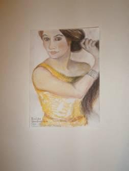 Zinaida Serebriakova - <p>1884 - 1967 nach ihrem Selbstportr&auml;t am Schminktisch, 1909</p>